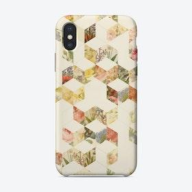 Keziah Scandinavian Pattern - Flowers iPhone Case
