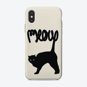 Meow Cat iPhone Case