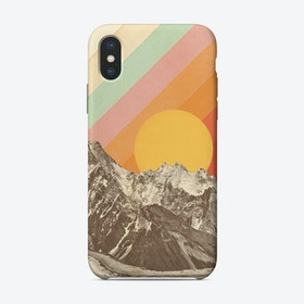Mountain Scape 1 iPhone Case