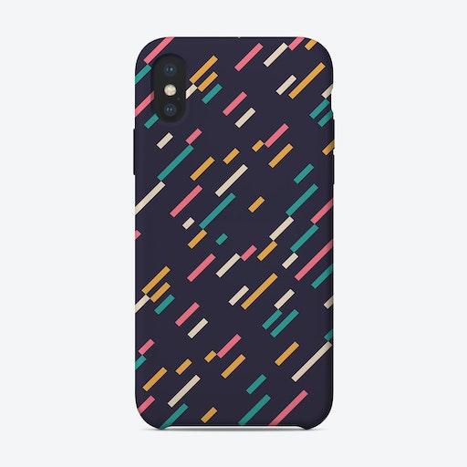 Modern Pattern 3 iPhone Case