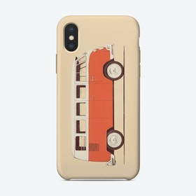 Red Van iPhone Case