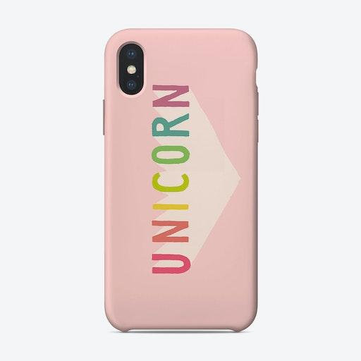 Unicorn Sign iPhone Case