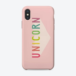 Unicorn Sign iPhone Case