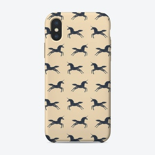 Unicorns Pattern iPhone Case