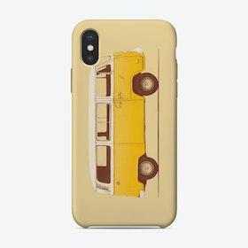 Yellow Van Vintage iPhone Case