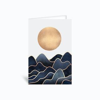 Waves Greetings Card