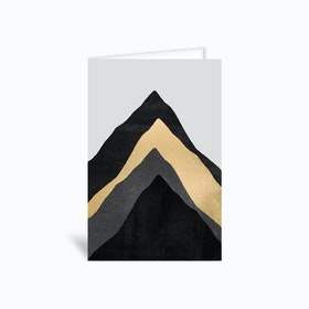 Four Mountains Greetings Card