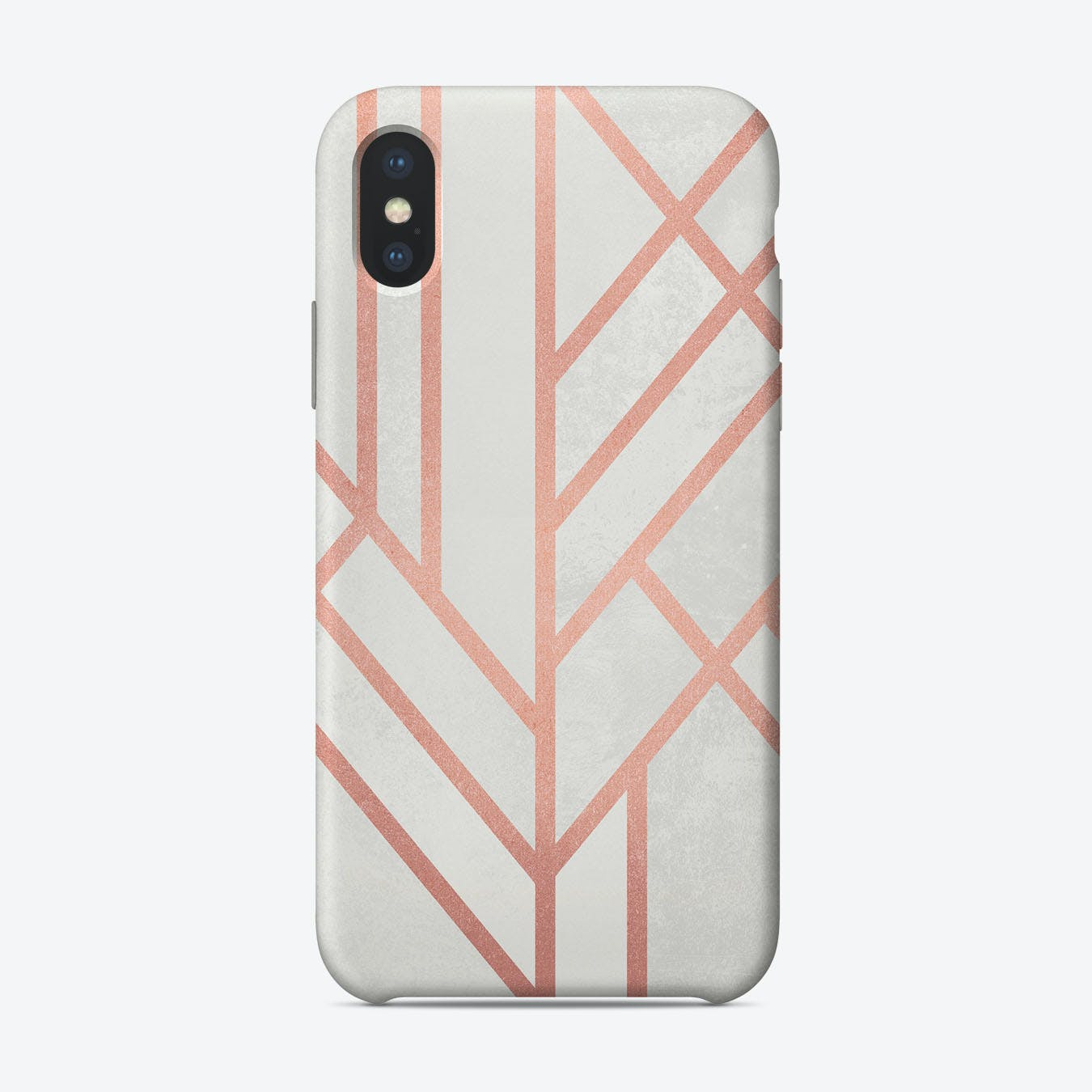 Art Deco Rose Gold iPhone Case