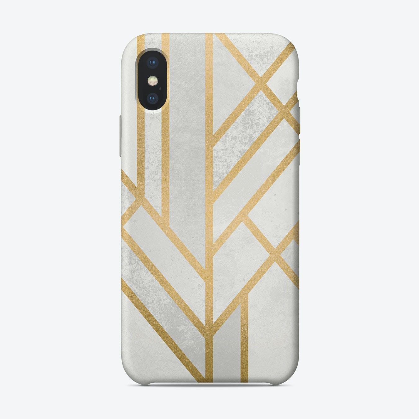 Art Deco Geometry Ii iPhone Case