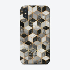 Black And White Cubes iPhone Case