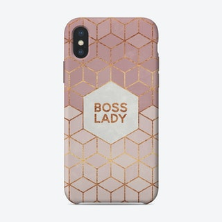 Boss Lady iPhone Case
