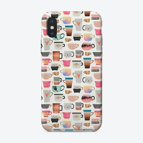 Coffee Cup Collection iPhone Case