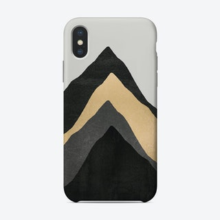 Four Mountains iPhone Case