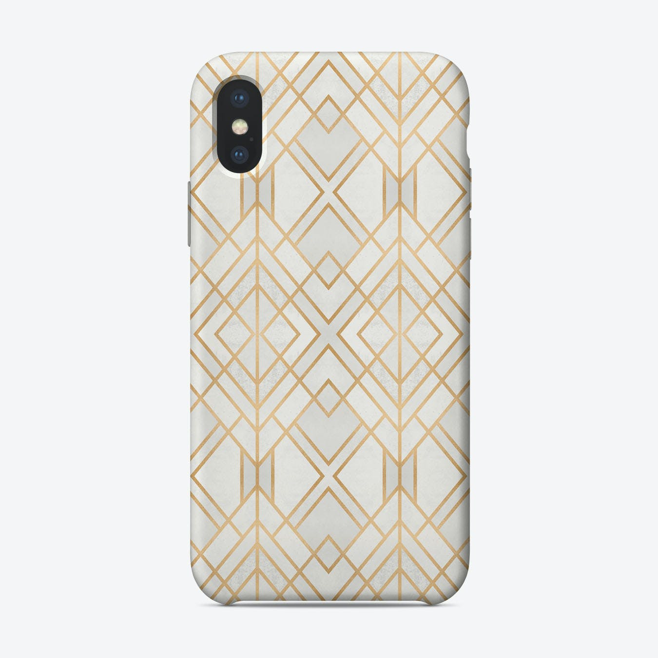 Golden Geo iPhone Case