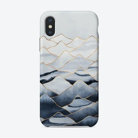 Mountains 1 iPhone Case