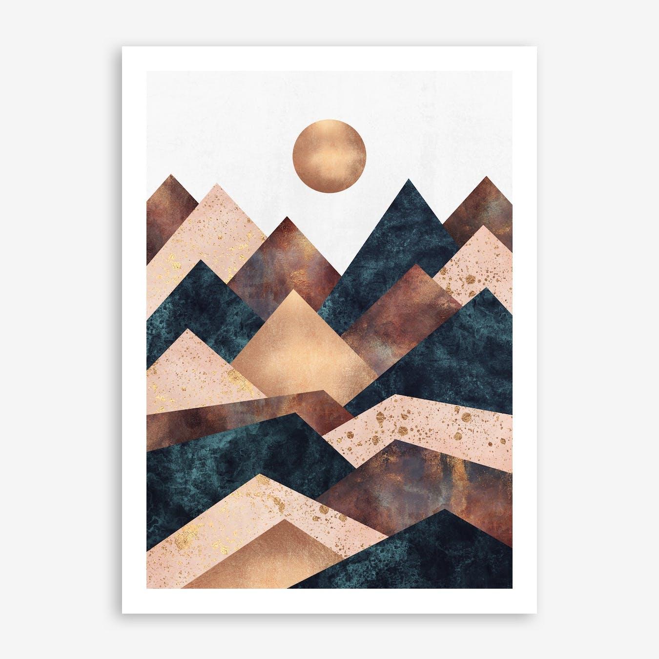 Autumn Peaks Print