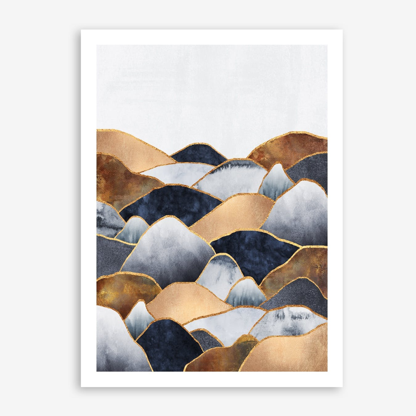 Hills 2 Print