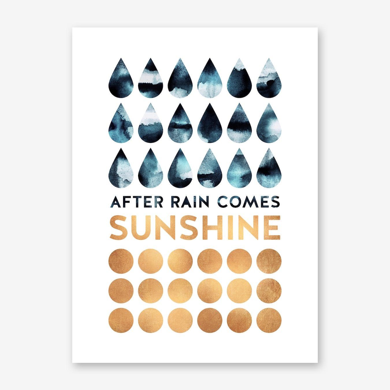 After Rain Comes Sunshine