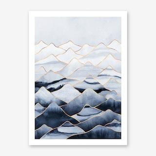 Mountains 1 Art Print