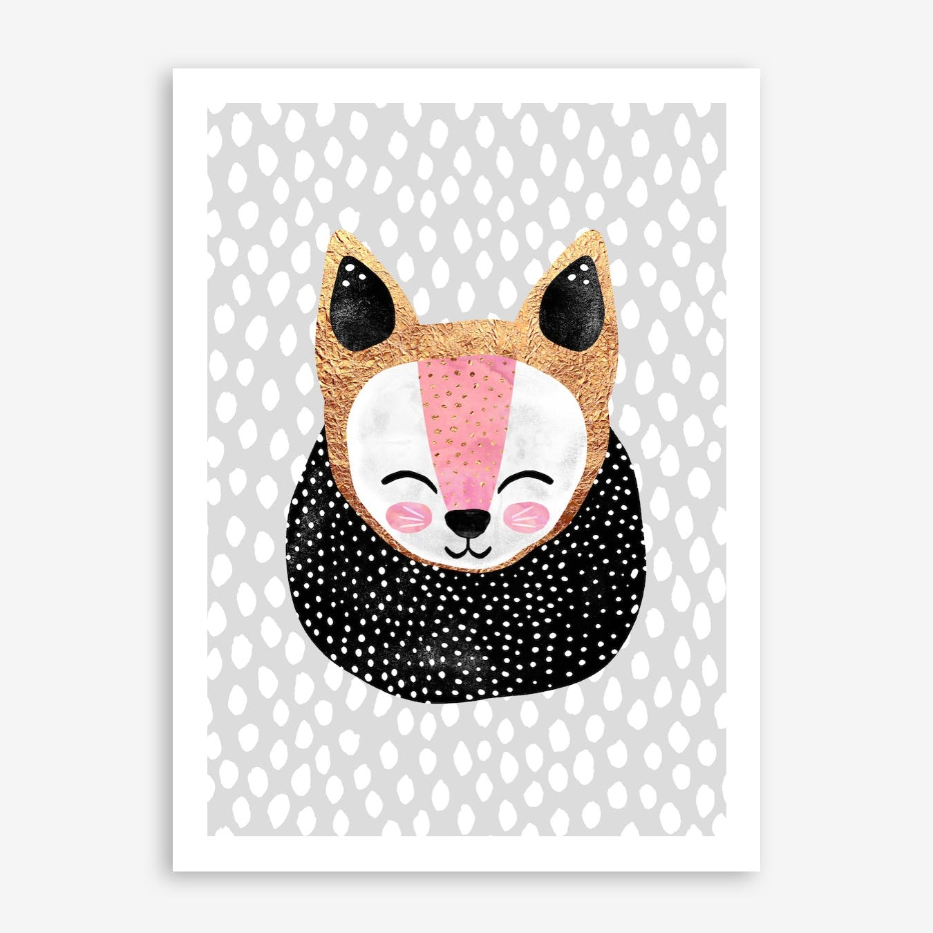 Little Arctic Fox Print