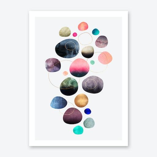 My Favorite Pebbles Art Print