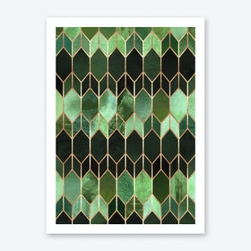 Stained Glass 5 Art Print