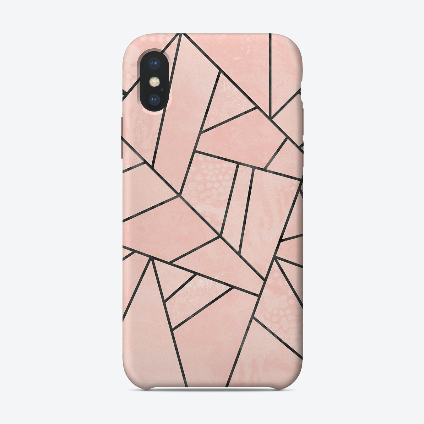 Rose Stone iPhone Case