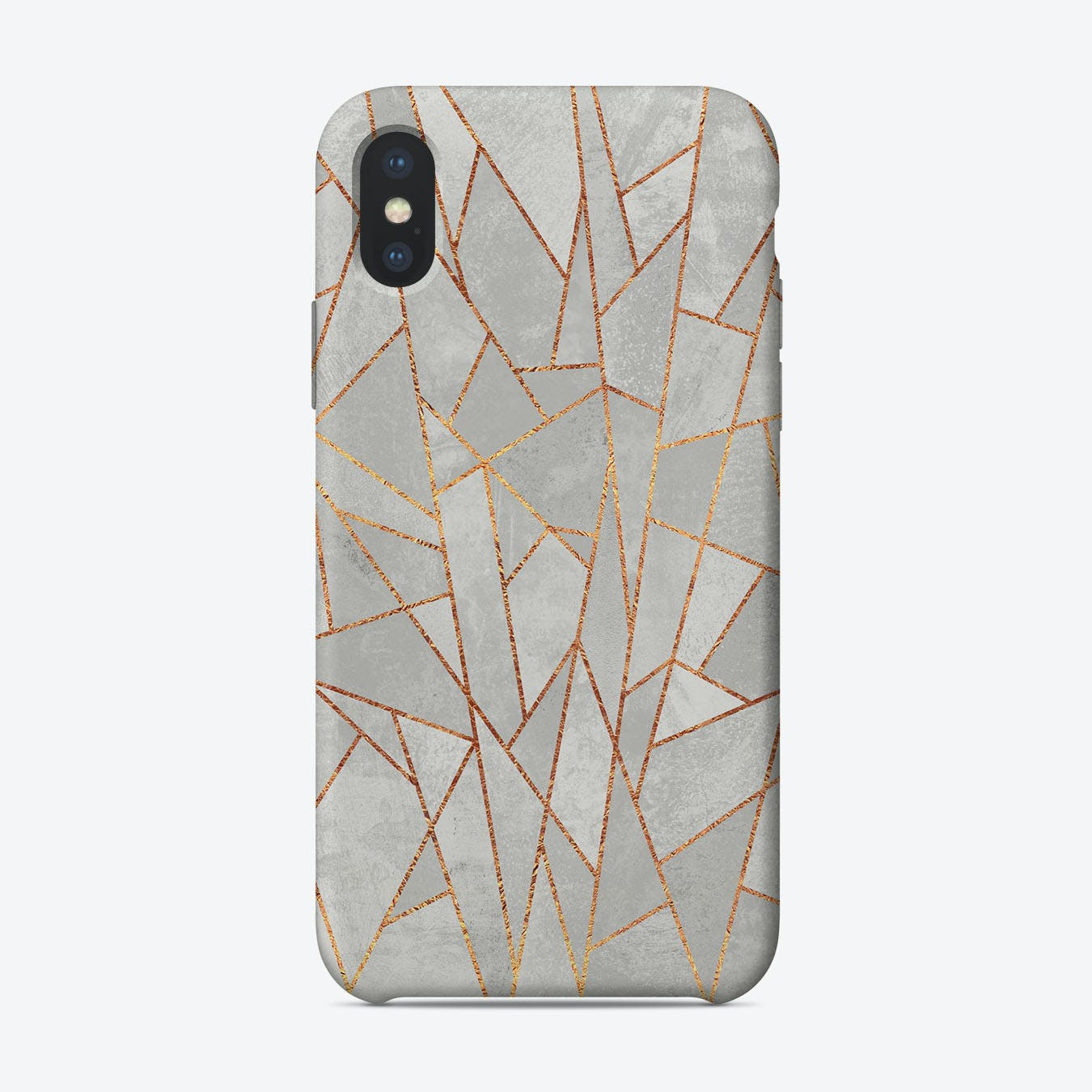 Shattered Concrete iPhone Case