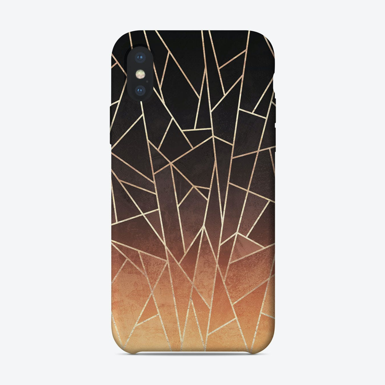 Shattered Ombre iPhone Case
