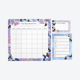 Magnet Calendar - Butterfly By