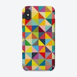 Colourful Tirangles Phone Case