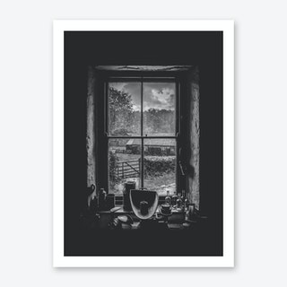 The Black Window Art Print
