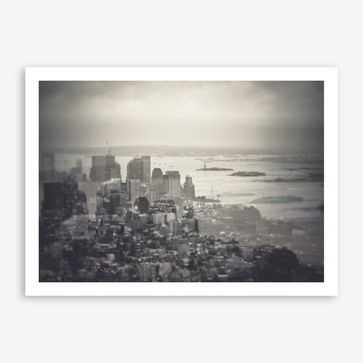 Tone New York City Skyline Art Print