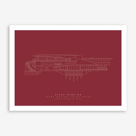 Stark Mansion Art Print