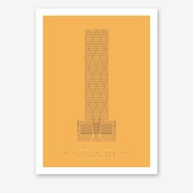 Hearst Tower Art Print