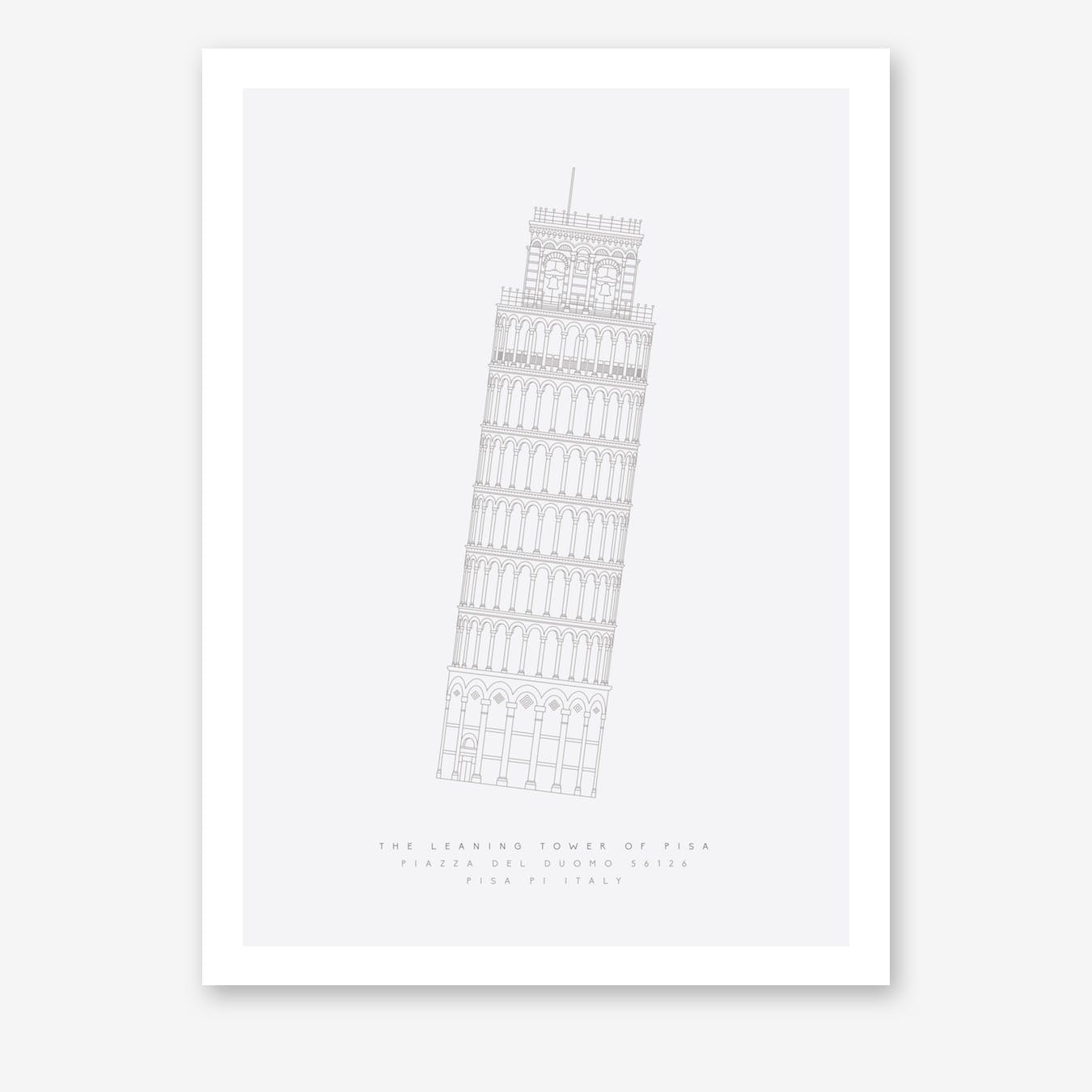 The Leaning Tower Art Print