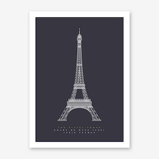 The Eiffel Tower Art Print