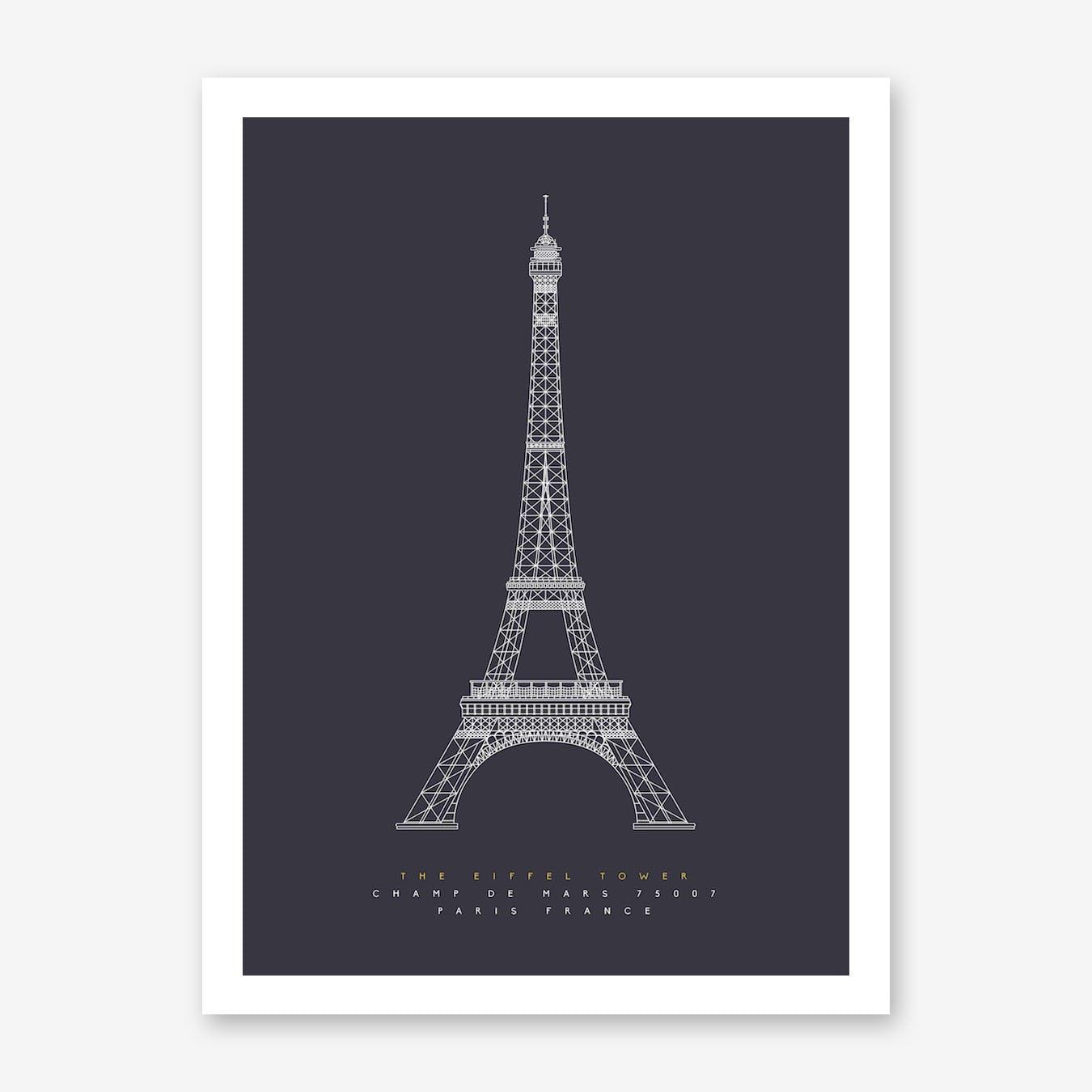 The Eiffel Tower Art Print
