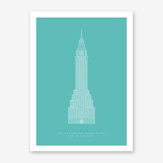 The Chrysler Building Art Print