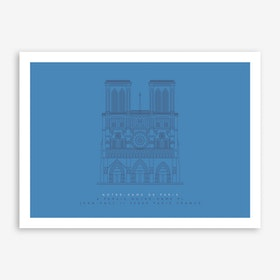 Notre-Dame Art Print