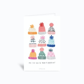 Brrright Christmas No 1 Greetings Card