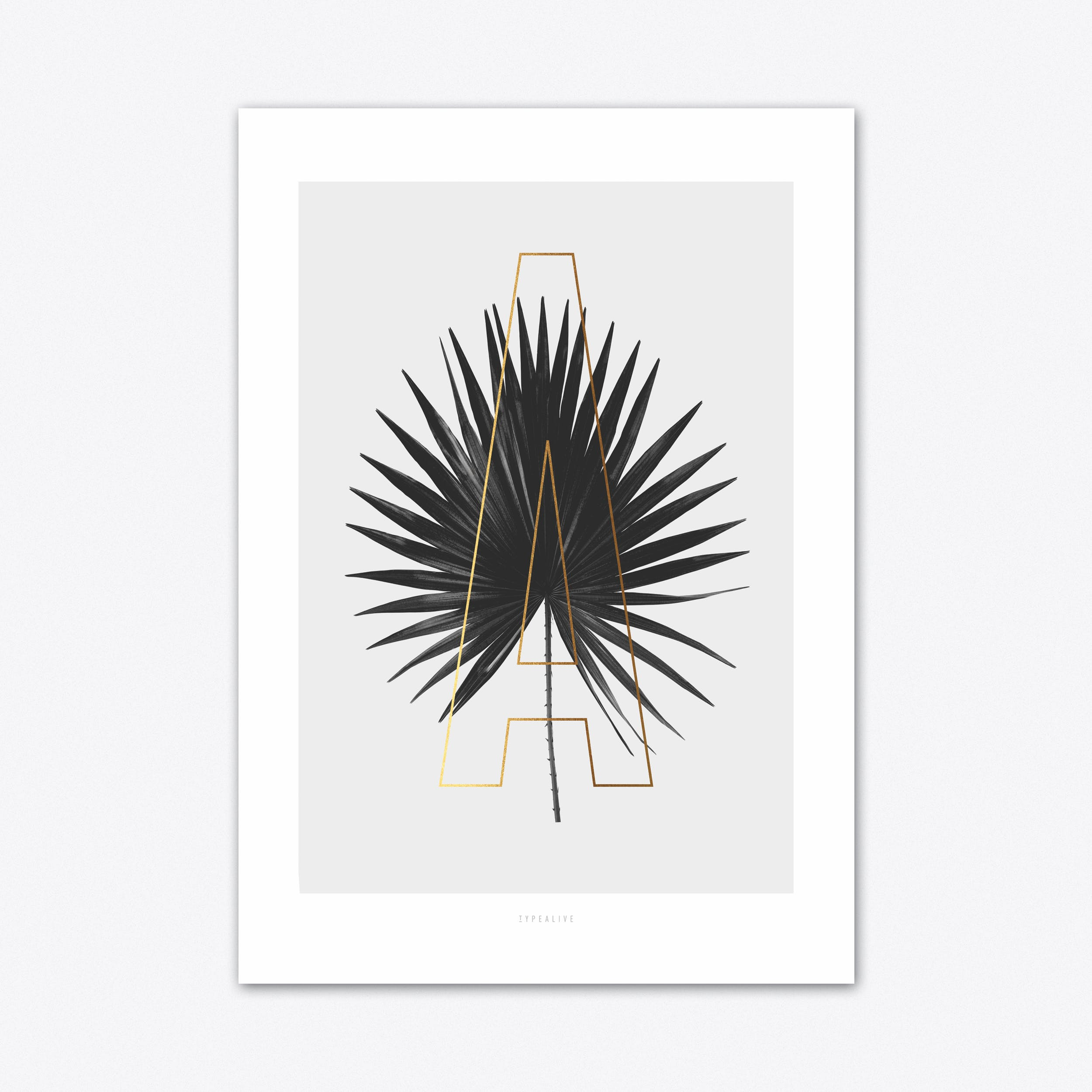 ABC Plants A Art Print