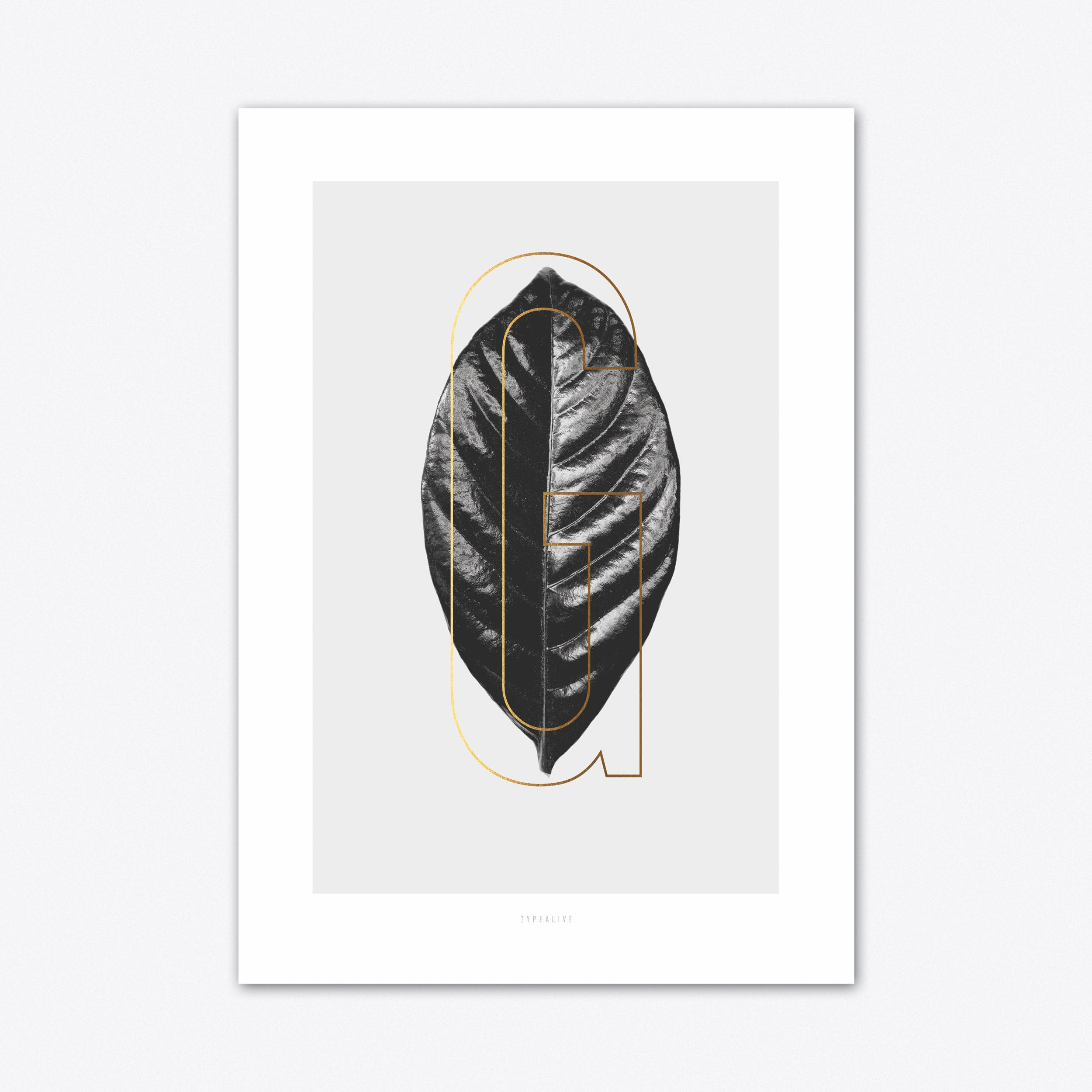 ABC Plants G Art Print