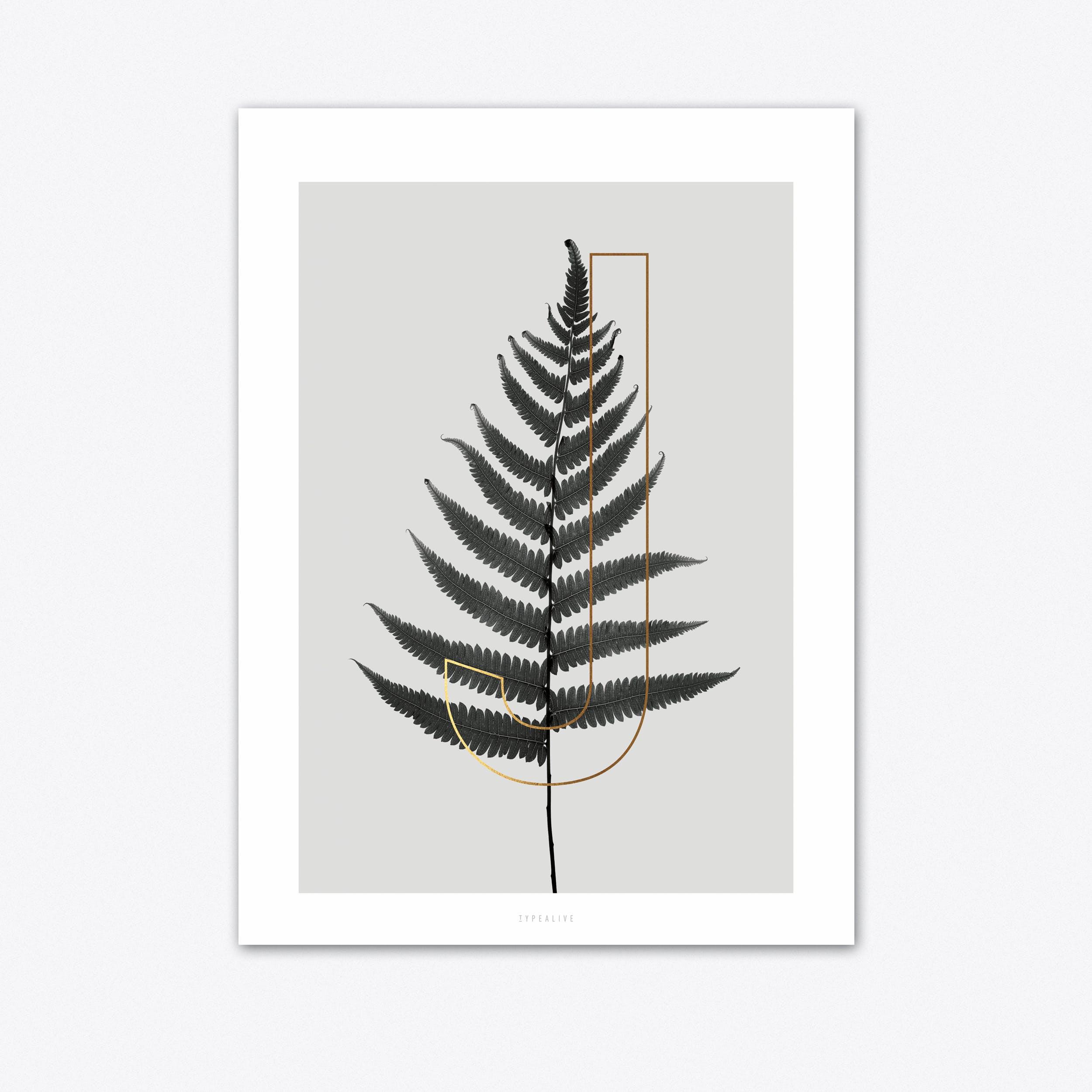 ABC Plants J Art Print