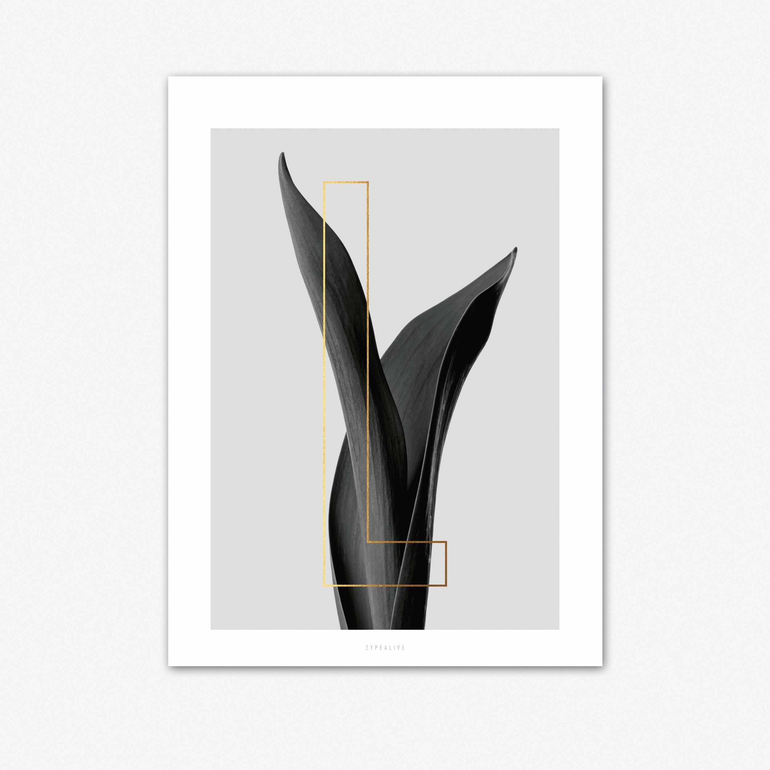 ABC Plants L Art Print