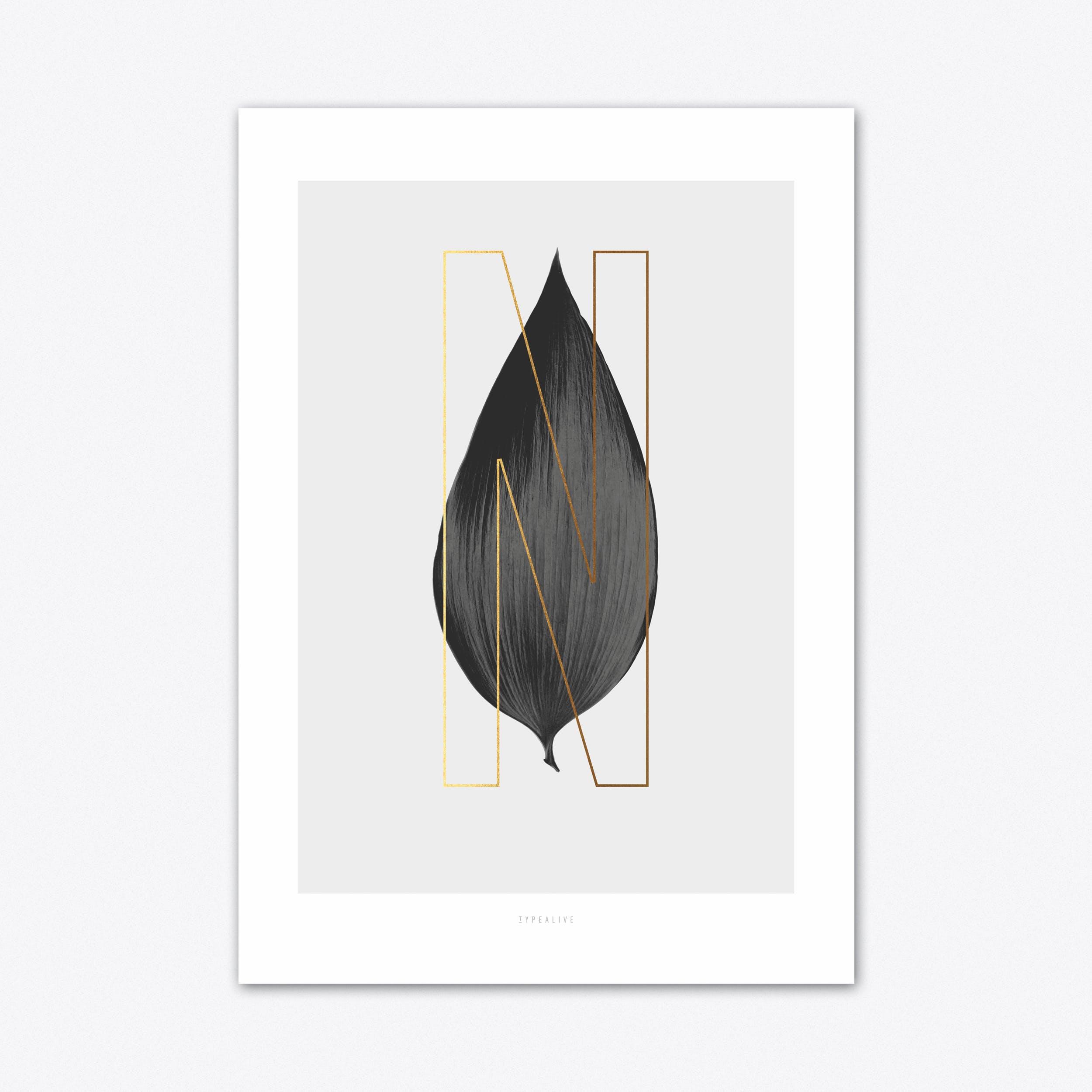 ABC Plants N Art Print