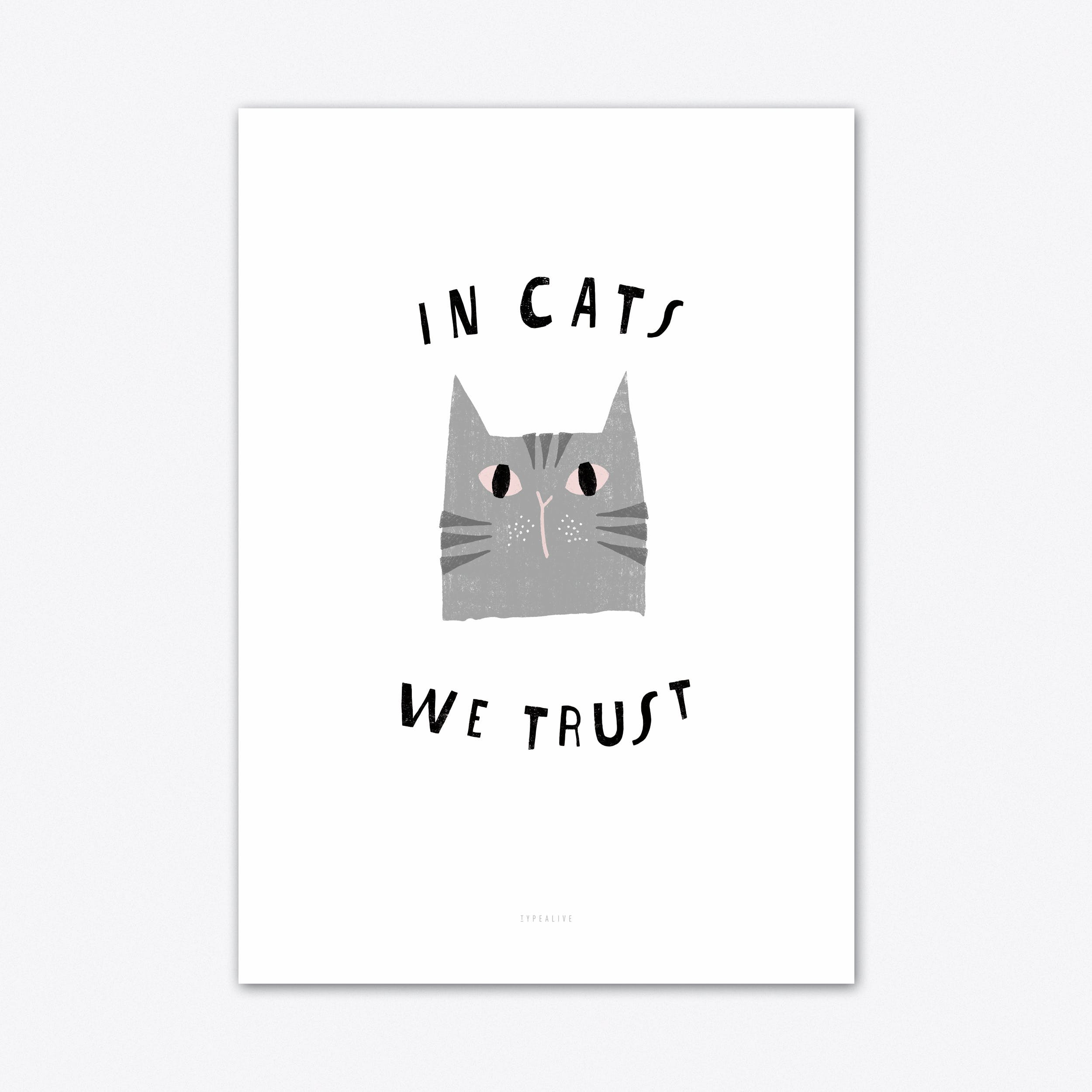 Catisfaction 3 Art Print