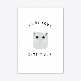 Catisfaction 6 Art Print