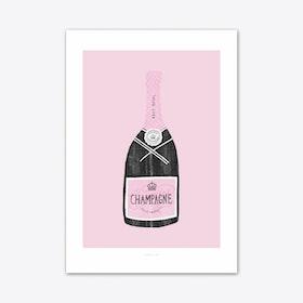Champagne 2 Art Print