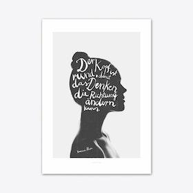 Denken Art Print